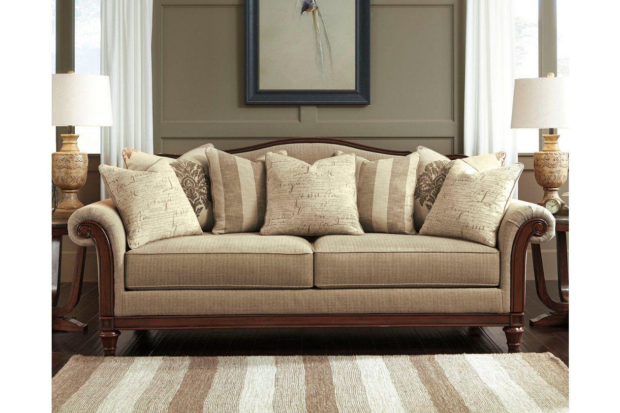 Berwyn View Sofa Ashley Furniture Homestore Ashley Furniture Living Room Living Room Decor Traditional Ashley Furniture