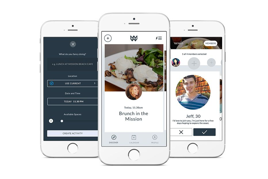 Tinder-Like App Wiith Helps You Find Friends, Not Dates