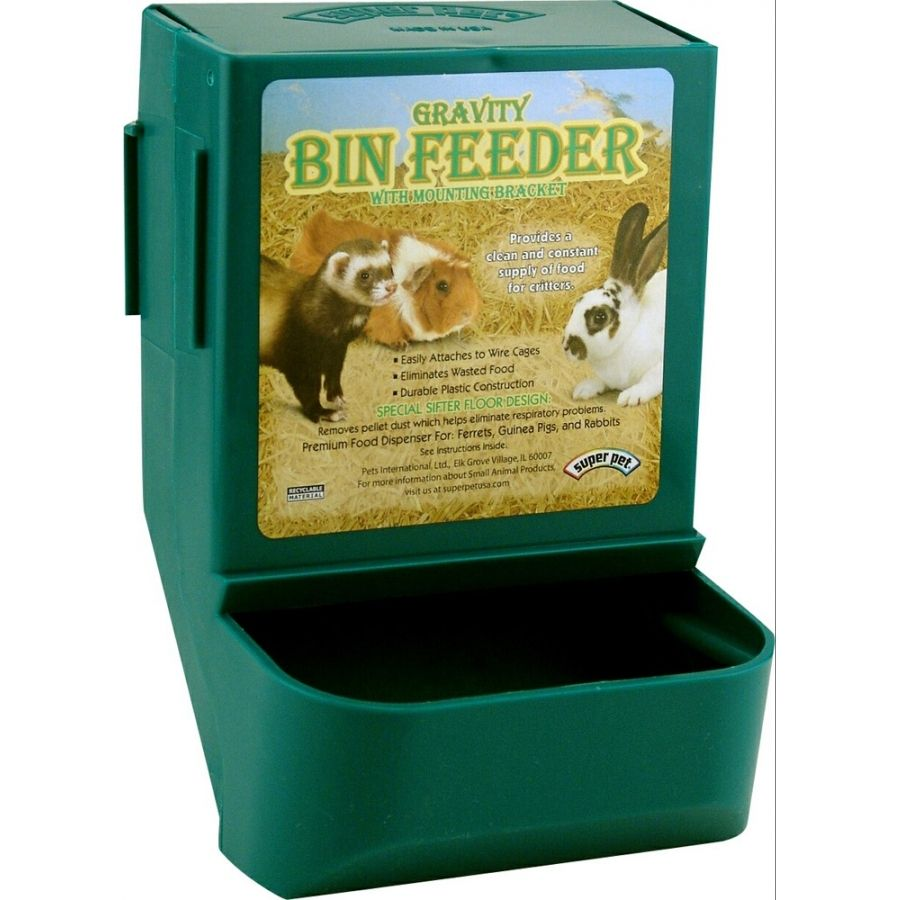 Gravity feeder to be used as dog treat dispensers with