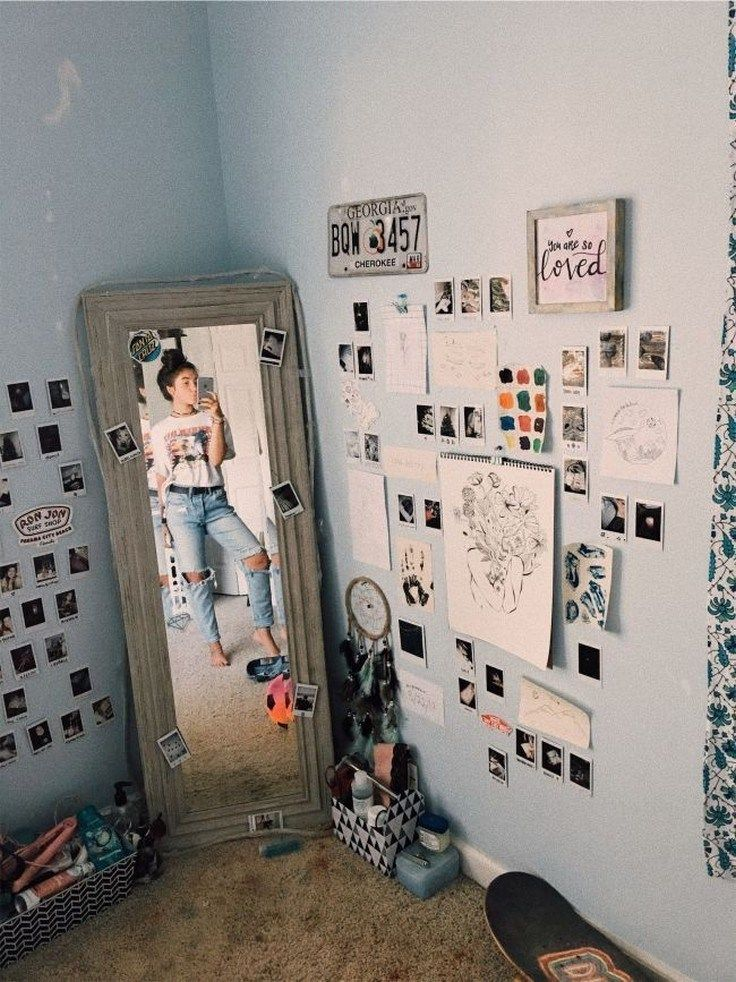 ✔70 cute and cool dorm room ideas that you need to copy right now 15 images