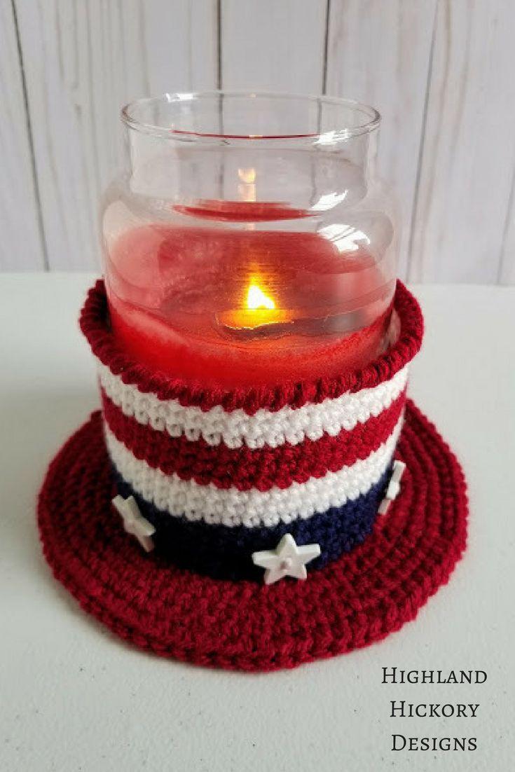 Americana Hat - Free Crochet Pattern | Fourth of July | Pinterest ...