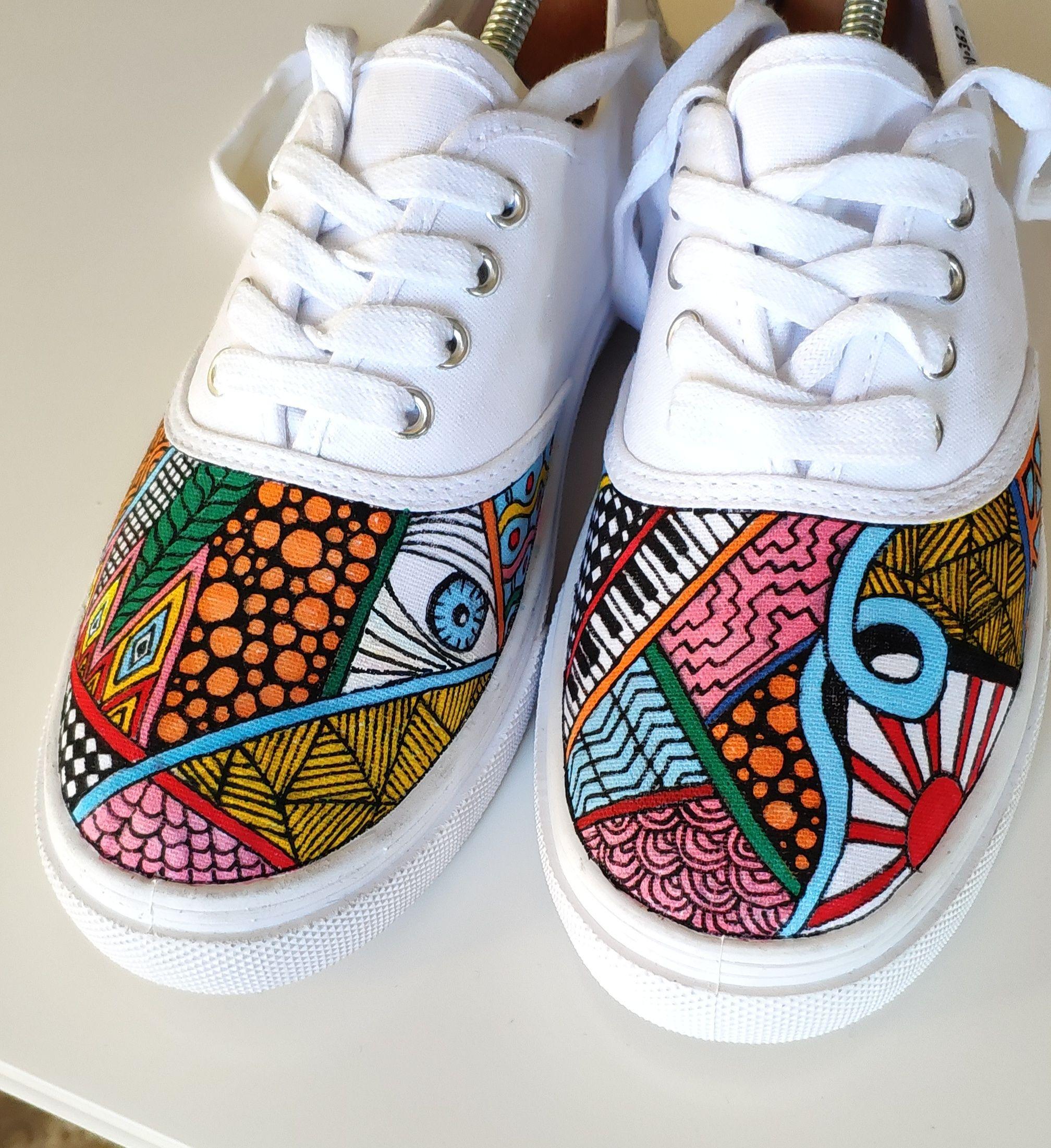 Custom handpainted shoes Custom kicks Custom sneakers Custom