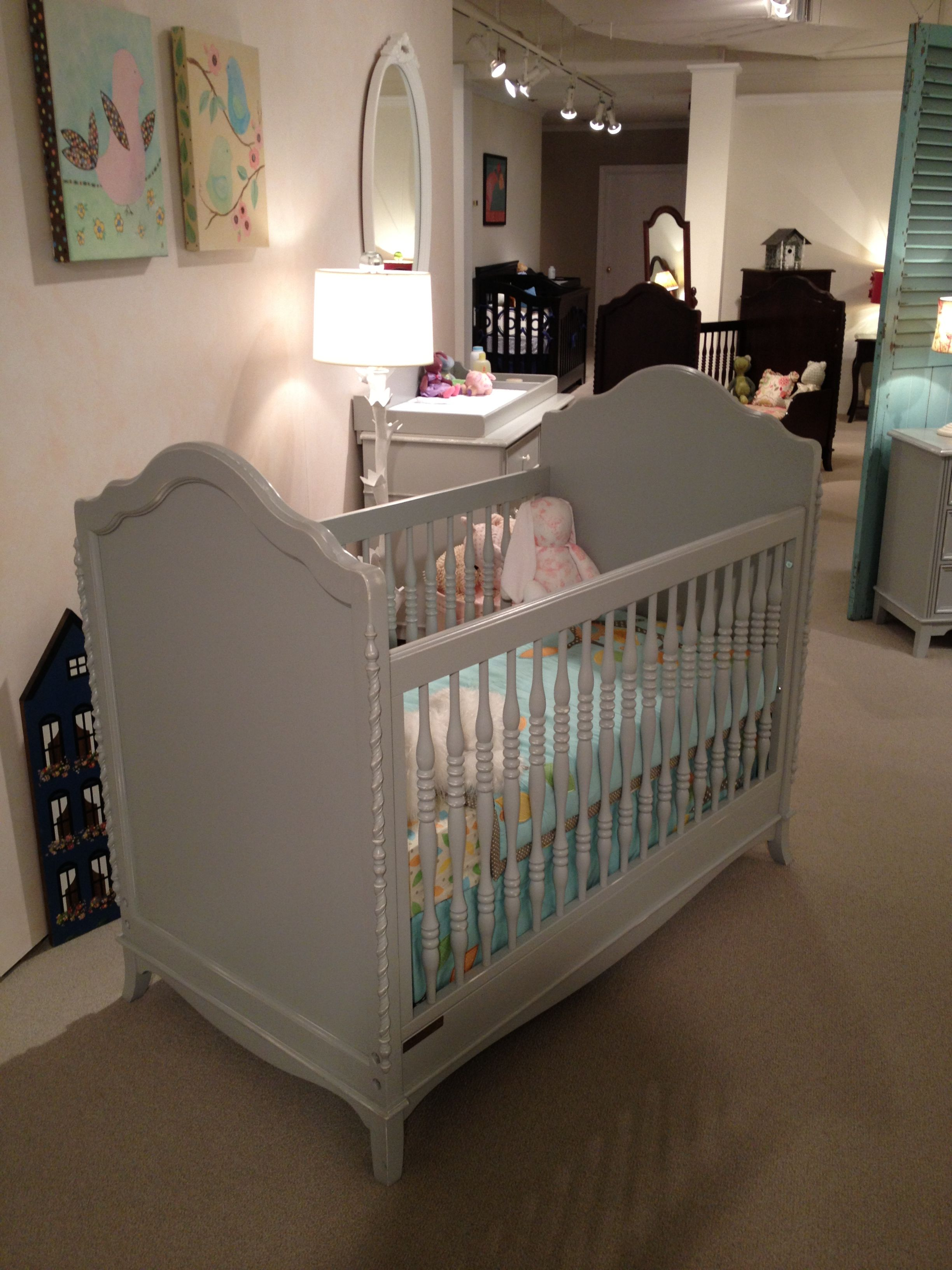 Crib for sale gatineau - The Abigail Crib From Young America For Stanley Delicious Gray Hue Very Christian Dior