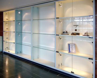 Glass Retail Display Cabinet Walls Shopkit Uk Wall Display