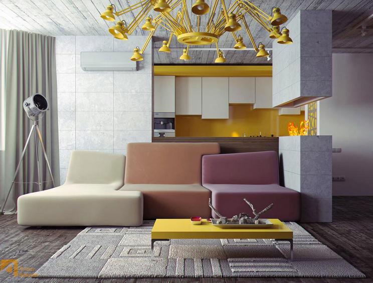 Loft Designed With Confluences By Ligne Roset. Live Beautifully!  Www.lignerosetsf.com