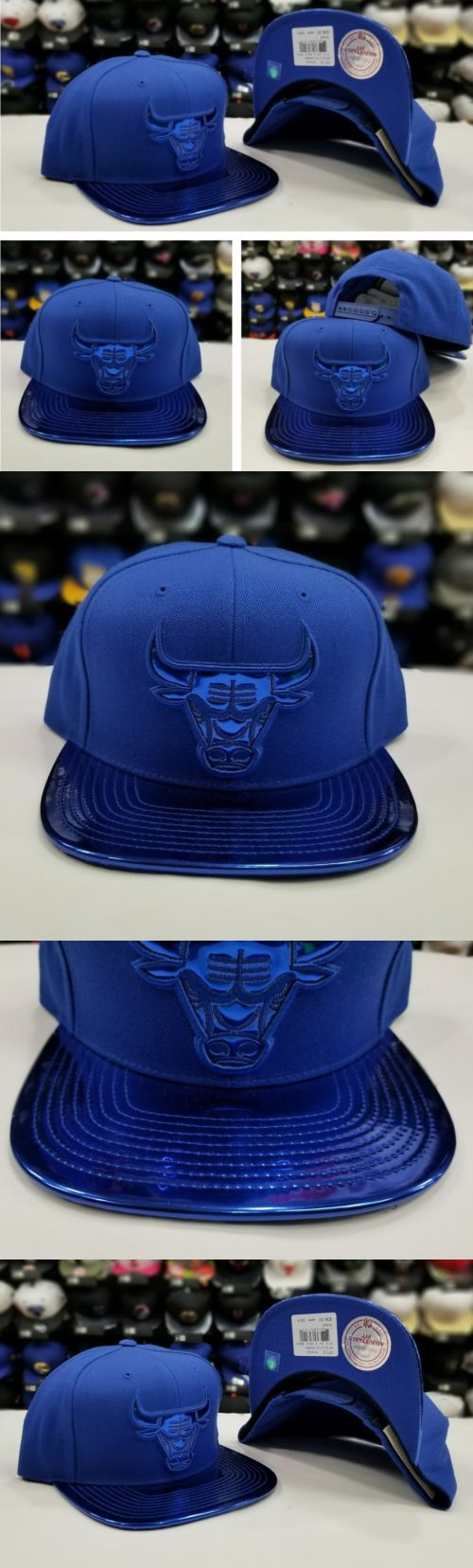 release date 5a614 79dde Hats 52365  New Mitchell Ness Nba Metallic Royal Blue Chicago Bulls  Adjustable Snapback Hat -  BUY IT NOW ONLY   79.99 on eBay!