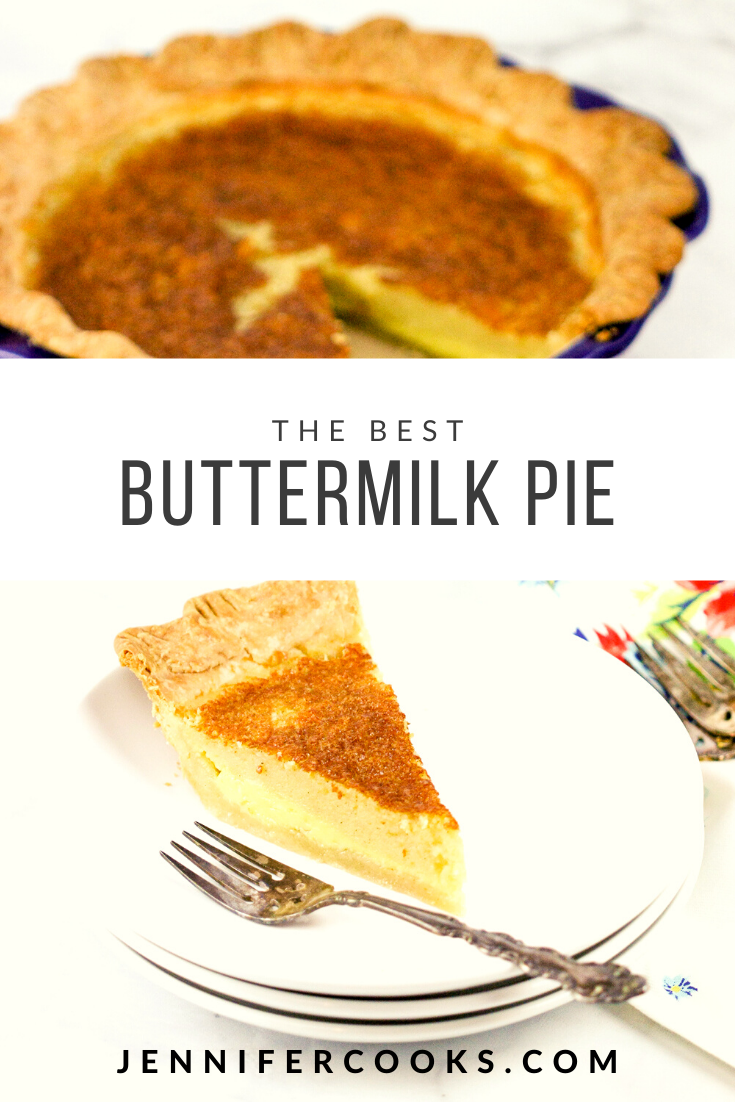 Best Buttermilk Pie Recipe Dessert Recipes Easy Party Desserts Buttermilk Pie