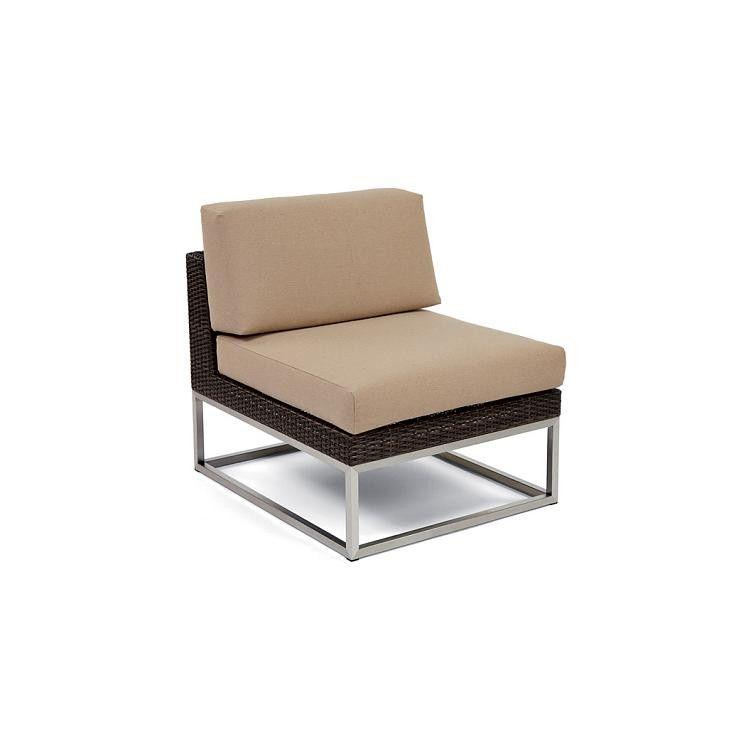 Caluco Mirabella Sectional Middle Chair - Sunbrella A