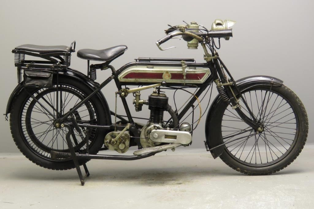 Sarolea 1920 Model 22b 550cc 1 Cyl Sv 2804 Yesterdays Classic Motorcycles Motorcycle Custom Paint Motorcycle