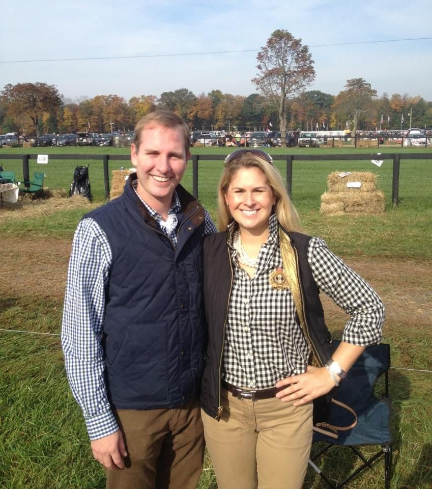 The Far Hills Hunt in New Jersey- preppy style