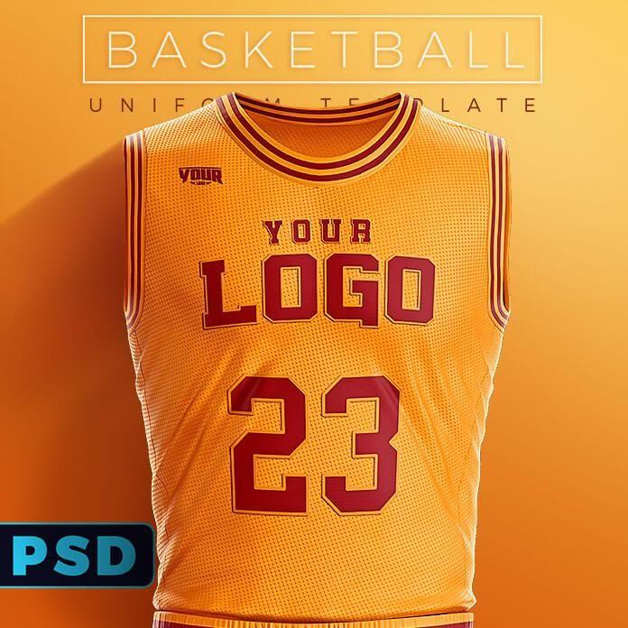 Slam Dunk Basketball Uniform Template