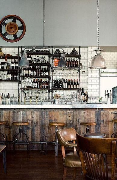 industrial home bar ideas  den  pinterest  industrial bar and