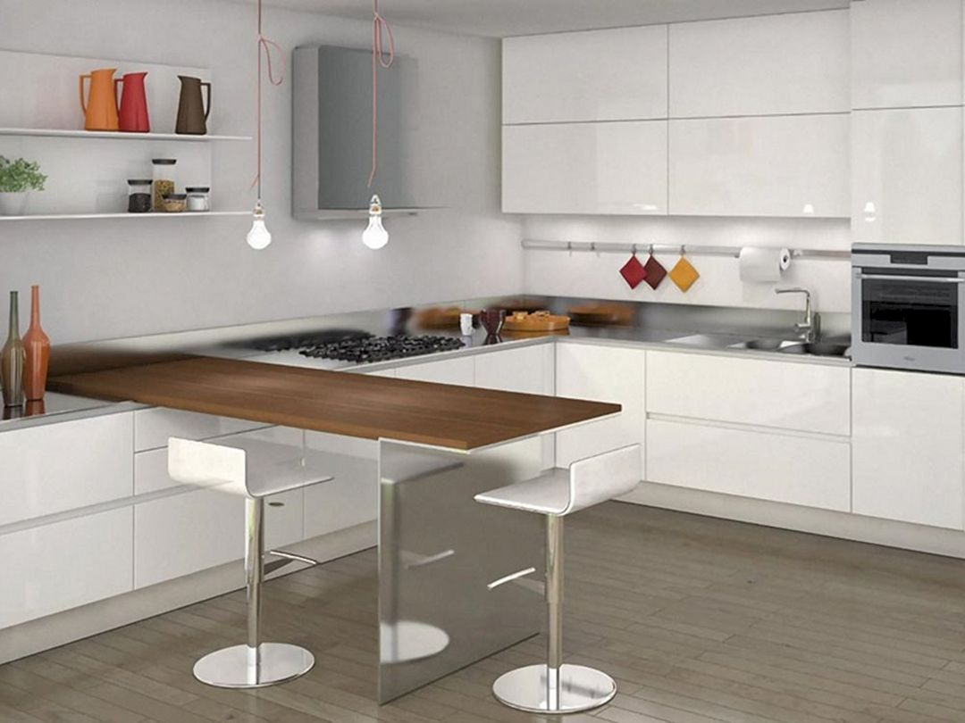 25 Minimalist L Shaped Kitchen Design For Small Kitchen Ideas