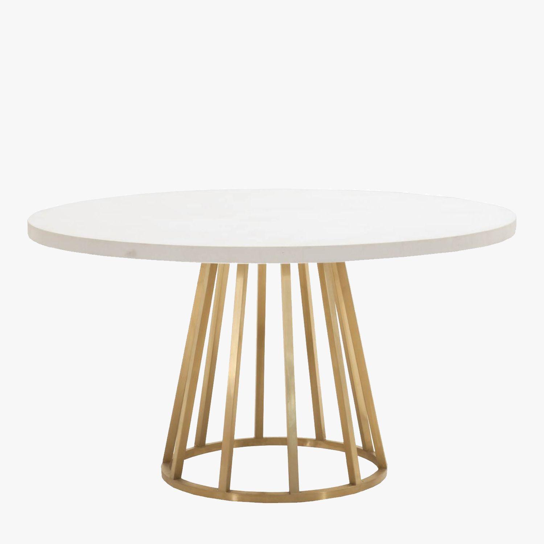 Atlas White Concrete Top Dining Table Shop Dining Tables Dear