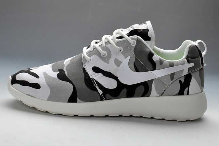 low priced ab897 9bb17 UK Trainers Roshe One Nike Roshe Run Pattern Mens Camouflage