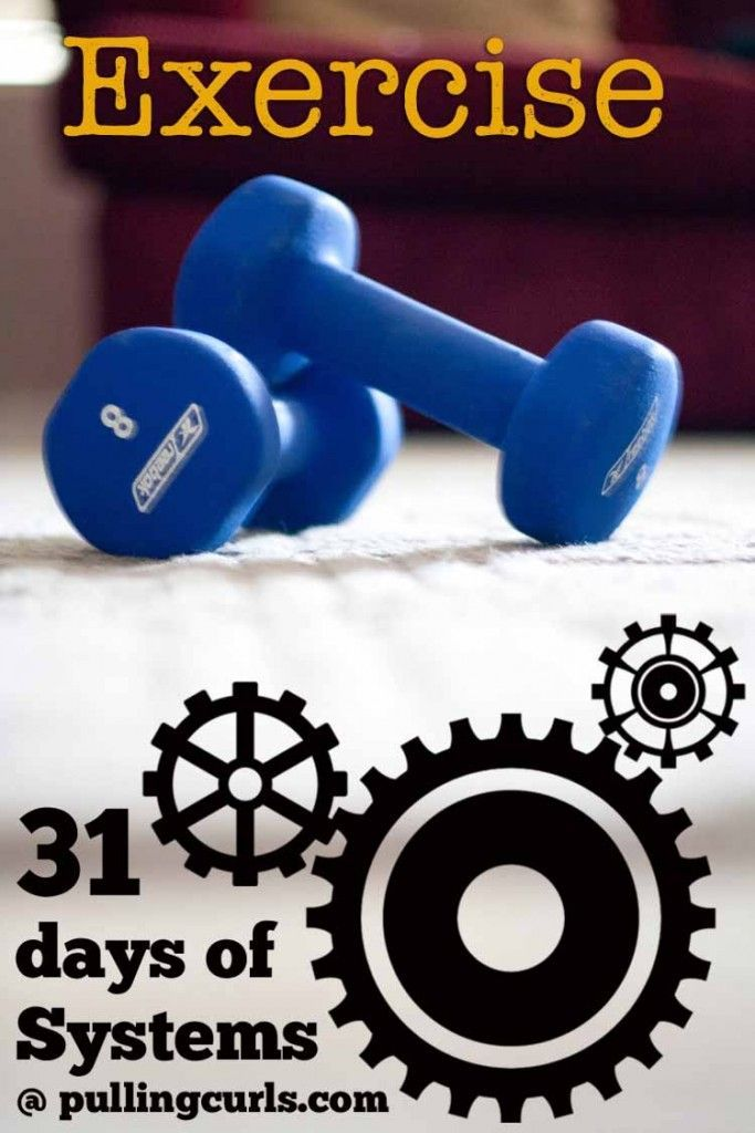How to plan your workouts: Planning workouts can help you getting into a habit of health! #pullingcurls