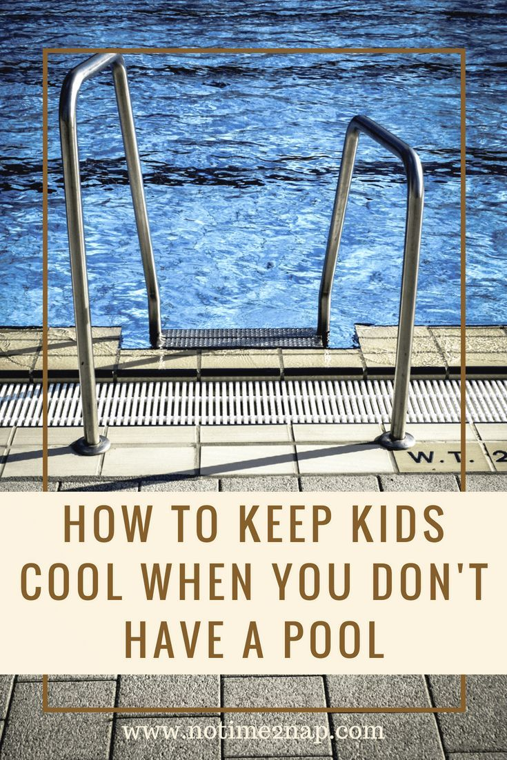 how to keep pool cool