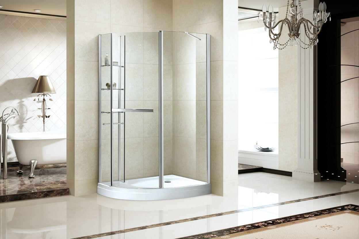 Pin By Dabbl On Pivot Door Frameless Shower Enclosures Glass Shower Doors Corner Shower Enclosures