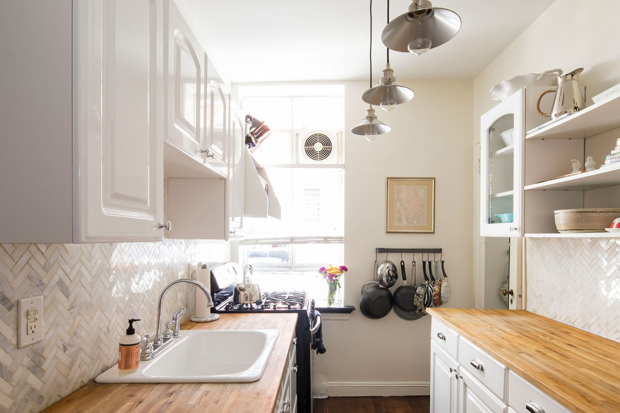 On the Market in New York City | Galley kitchens, Countertops