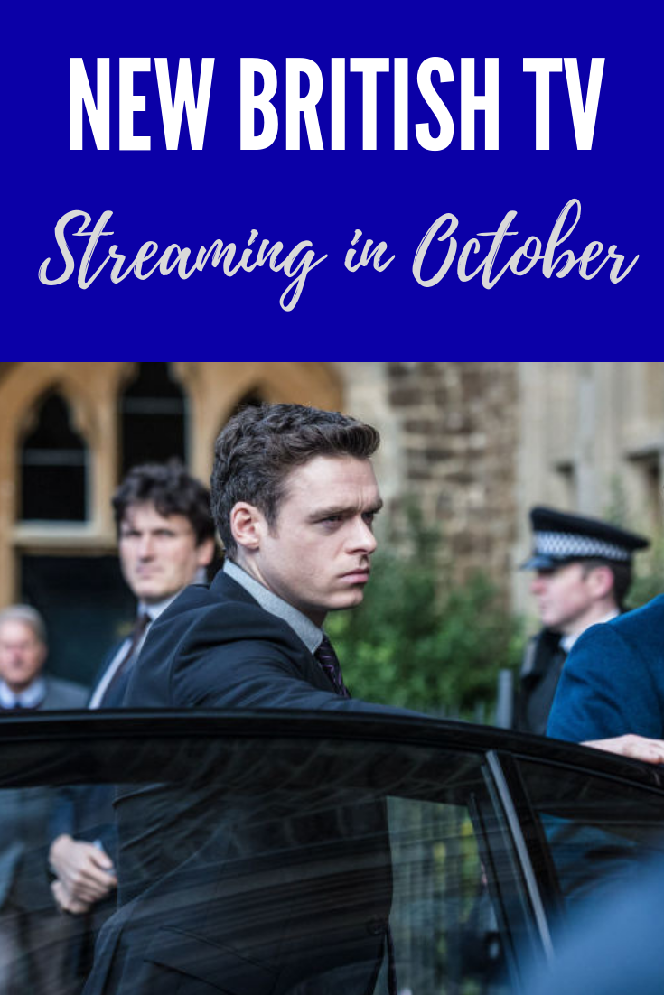 October 2018 British TV Premieres by Streaming Service