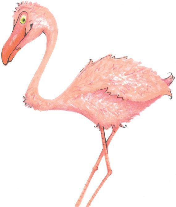 Fanni the flamingo. Beautiful piece. Get it customized!