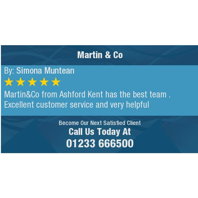 Martin&Co from Ashford Kent has the best team . Excellent