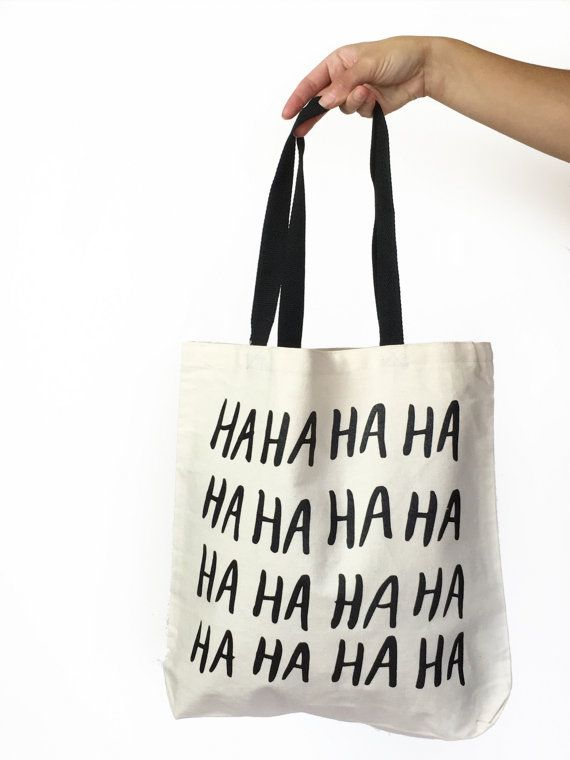 Black Cat Club witchy cotton canvas tote