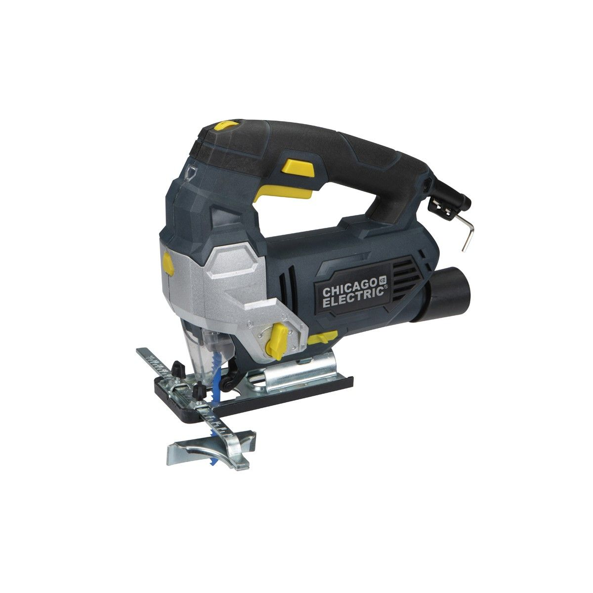 Chicago Electric Power Tools 69077 Orbital Jigsaw with Dust