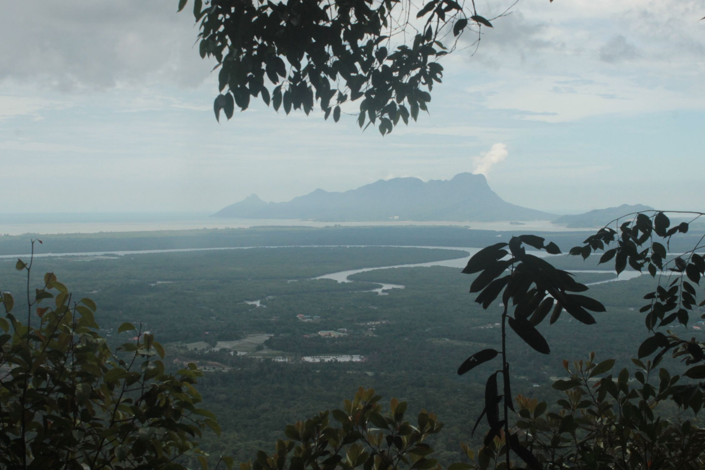 Mirador en el Parque Nacional de Kubah