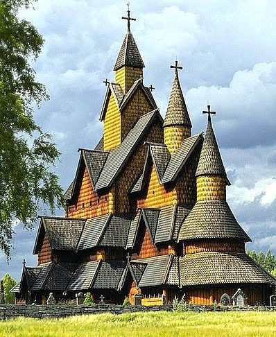 Heddal Stave churche in Telemark, Norway