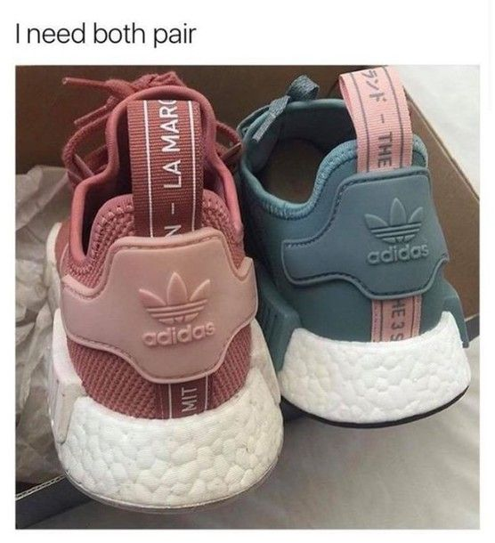Shoes: adidas pastel sneakers blue sneakers grey sneakers