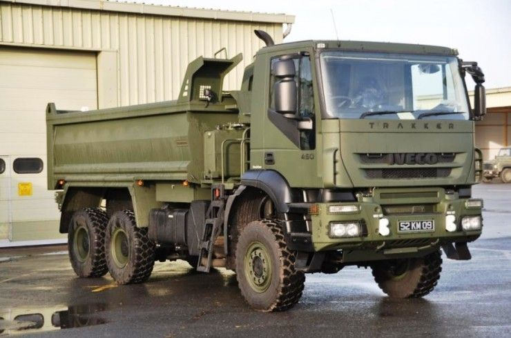 Iveco trakker - British Army