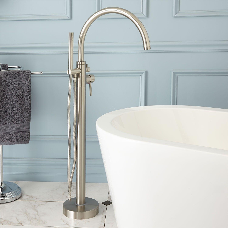 Glynne+Gooseneck+Freestanding+Tub+Faucet | MBB PICKS | Pinterest ...