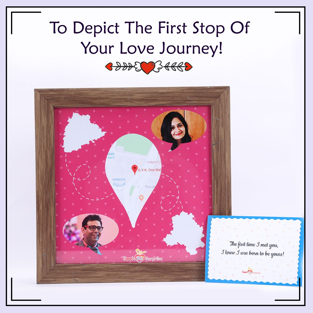 The First Time I Met You I Knew I Was Born To Be Yours Surprise Gifts Creative Photo Frames Special Gifts