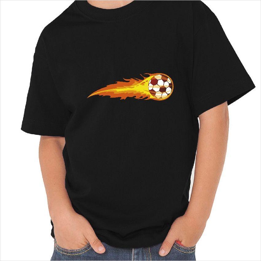 c925d67cd Camiseta pelota de fuego Camisetas De Fútbol