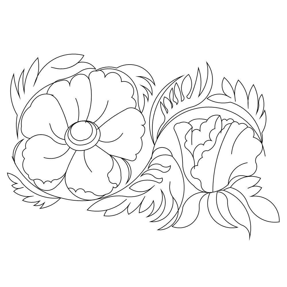 Pin on flowers for sew