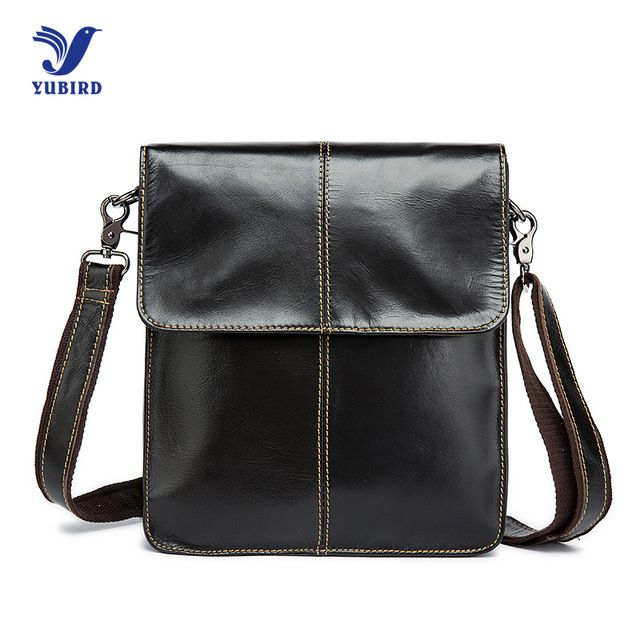 Promotion price Cowhide Genuine Leather Men Messenger Bag Brand Designer Handbag Vintage Casual Shoulder Bag Black Flap Man Crossbody Bags just only $33.20 with free shipping worldwide  #crossbodybagsformen Plese click on picture to see our special price for you