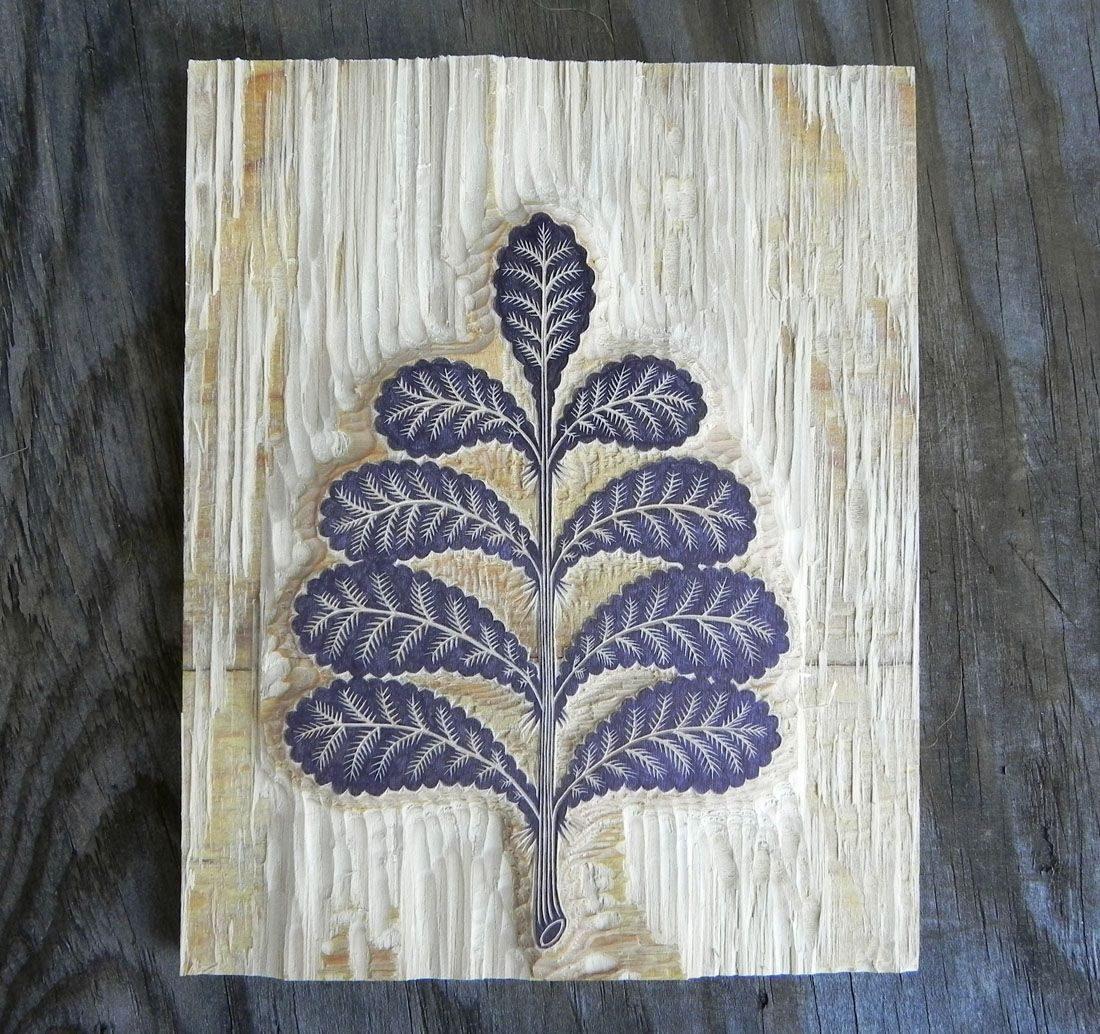 Tugboat Printshop: FROND WOODCUT