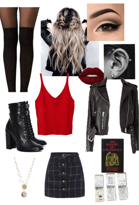 modern punk witch Outfit | ShopLook #modernwitch