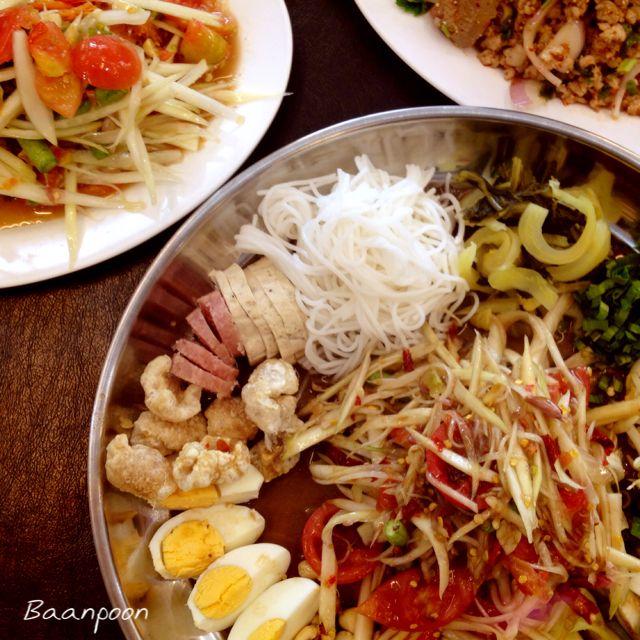Som tum, thai salad, thai food, thai style