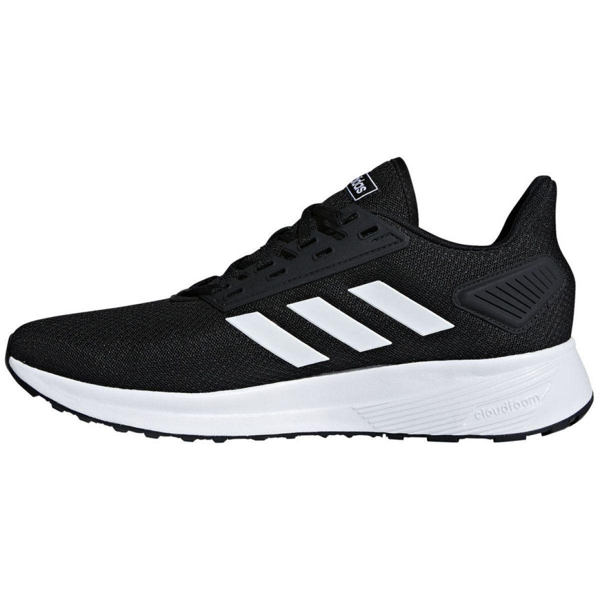 Running Shoes Adidas Duramo 9 M Bb7066 Black Adidas Running Shoes Adidas Shoes Running Shoes