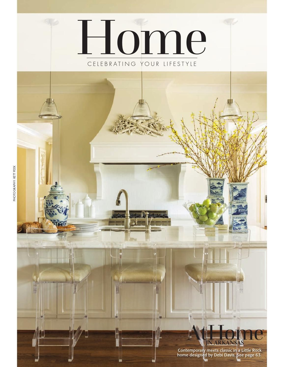 At Home in Arkansas | Traditional kitchen, Kitchens and Interiors