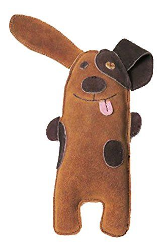 Native Dog Silly Puppy Jute And Leather Toy Click On The Image