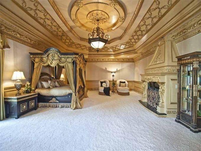 Luxury Homes Master Bedroom kim zolciak master bedroom | luxury homes, estates & properties