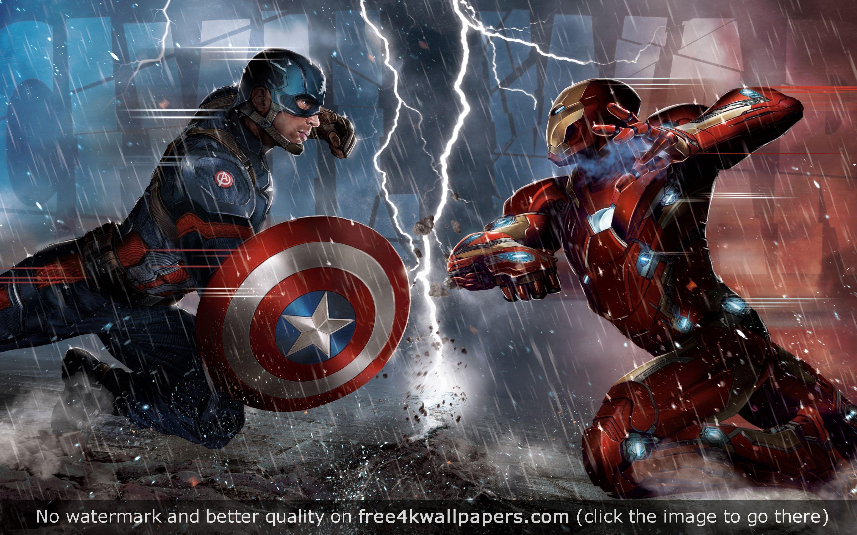 Captain America Civil War Concept 5k Hd Wallpaper