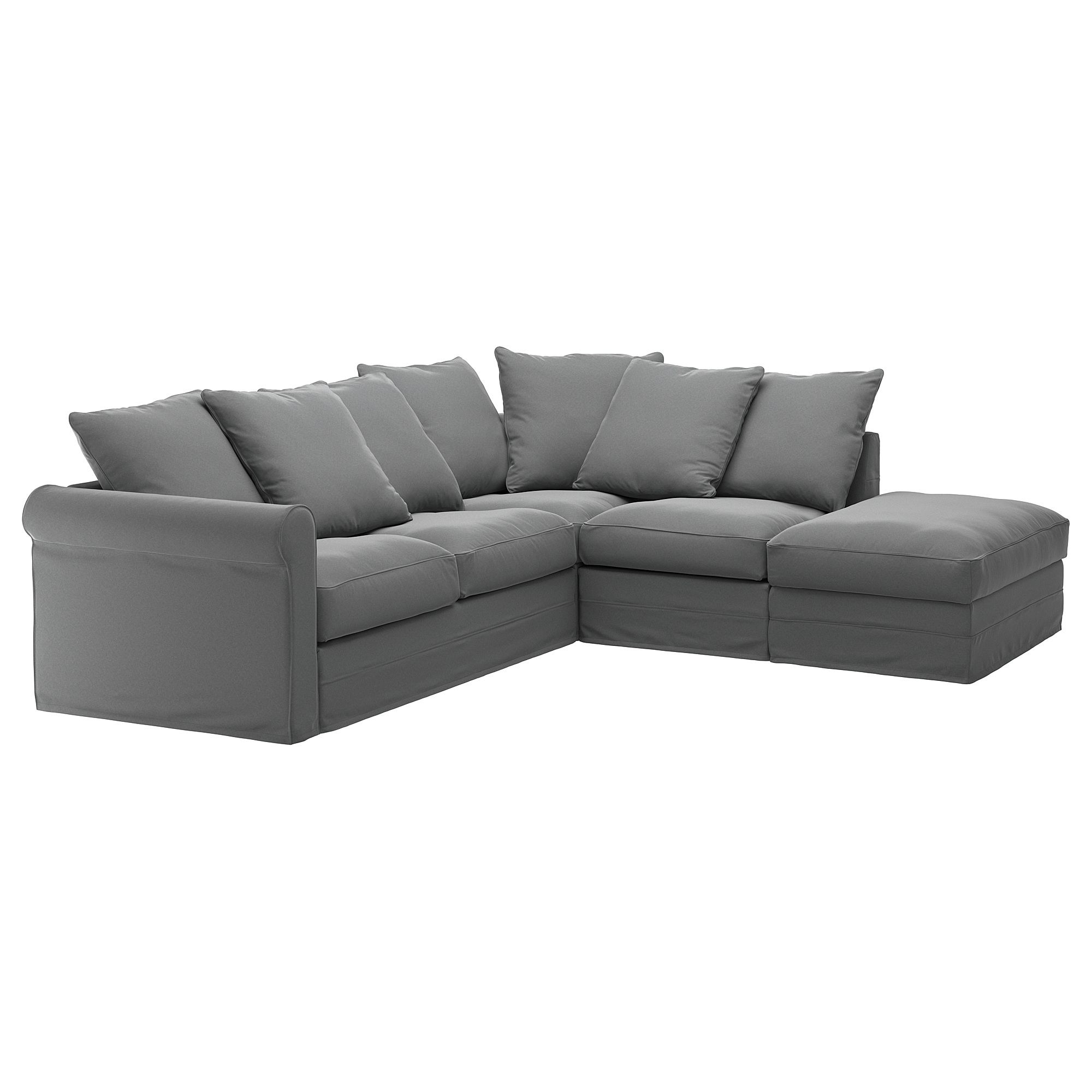 Ikea GrÖnlid Cover For Sectional 4 Seat With Open End Ljungen