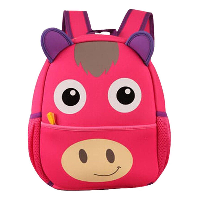jj store kids school bag animal cartoon backpack school book bag