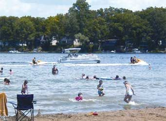 Summer fun on Portage Lake! With hundreds of pristine lakes