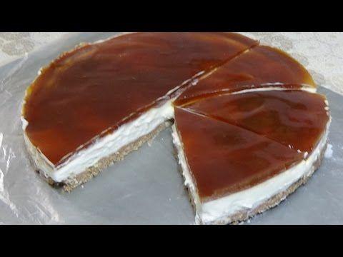 تشيز كيك بارد بدون فرن خالي من الجيلاتين و الماسكاربون سهل و بمذاق رائع لايقاوم من قناة Aya Acil Tv Youtube Food Desserts Dessert Recipes