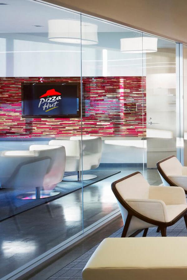 Pizza Hut Headquarters Portfolio Modern Office Space Design